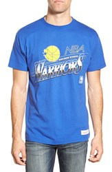 Men's Mitchell And Ness 'Golden State Warriors Last Second Shot' Graphic T Shirt