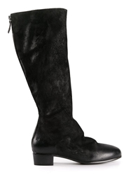Marsell 'Sasso' Back Zip Boots Black