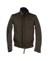 Marithe' F. Girbaud Marithe Francois Girbaud Coats And Jackets Down Jackets Men Military Green