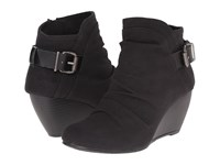 Blowfish Beastie Black Rancher Canvas Dyecut Pu Women's Pull On Boots