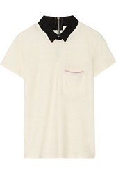 Band Of Outsiders Cotton And Wool Blend Top