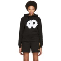 Mcq By Alexander Mcqueen Black Classic Mad Chester Hoodie