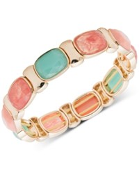 Nine West Multi Stone Stretch Bracelet