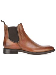 Oliver Sweeney 'Finch' Chelsea Boots Brown