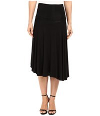 Bobeau Carrie Knit Circle Skirt Black Women's Skirt