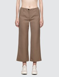 Aalto Slightly Flared Cropped Trouser