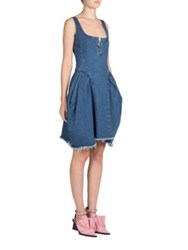 Marques Almeida Sleeveless Denim Dress Stonewash