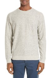 Norse Projects Men's Ketel Melange Double Face Cotton Blend Sweater
