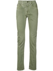 Cerruti 1881 Skinny Trousers Green