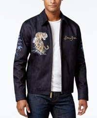 Sean John Men's Bomber Jacket Blue