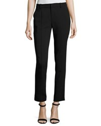 Rachel Roy Ingrid Straight Leg Ankle Pants Black