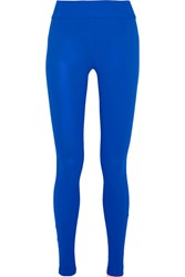 No Ka' Oi Ka'oi Kei Stretch Jersey Leggings Bright Blue