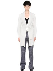 Calvin Klein Ribbed Cashmere And Silk Cardigan