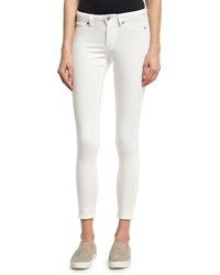 Cheap Monday Spray On Mid Rise Skinny Jeans White