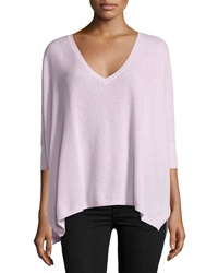 Minnie Rose Cashmere 3 4 Sleeve Oversize Sweater