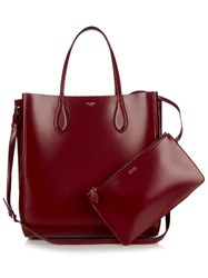Rochas North South Leather Tote