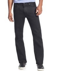 Sean John Big And Tall Hamilton Relaxed Fit Jeans Overdyed Black