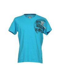 North Sails T Shirts Turquoise