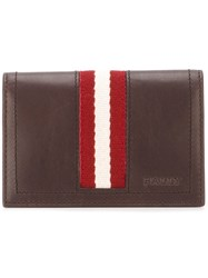 Bally Flap Wallet Brown