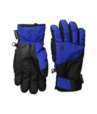 Salomon Odyssey Gtx Jr Blue Yonder Black Ski Gloves