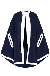 Lisa Marie Fernandez Cotton Terry Cape Blue