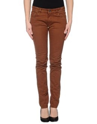 M.Grifoni Denim Casual Pants Brown