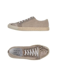 Daniele Alessandrini Low Tops And Trainers Beige