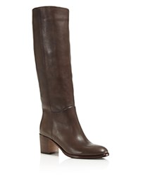 Kate Spade New York Mackenzie Tall Block Heel Boots Dark Taupe