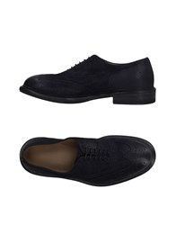Laboratorigarbo Lace Up Shoes Dark Blue