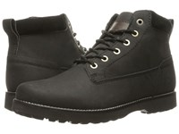 Quiksilver Mission Ii Solid Black Men's Lace Up Boots