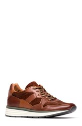 Rodd And Gunn 'S Hickory Sneaker Tan Leather