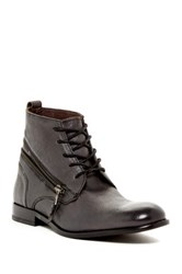 John Varvatos Star Nyc Zip Wrap Boot Black