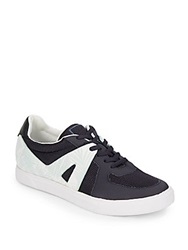 Dolce Vita Xylia Leather Trimmed Sneakers