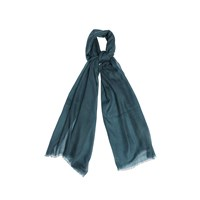 Wtr Cashmere Scarf Imperial Green