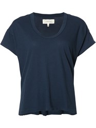 The Great Scoop Neck T Shirt Blue