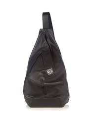 Loewe Anton Leather Backpack Black