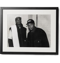 Sonic Editions Framed Snoop Dogg And Dr. Dre Print 17 X 21 Black