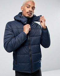 Esprit Quilted Jacket Navy