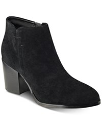 Marc Fisher Vandra Pointy Toe Booties Women's Shoes Black