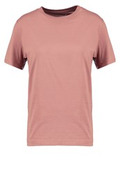 Selected Femme Sfmy Perfect Basic Tshirt Burlwood Brown