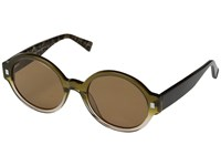 Eyebobs Deja View Polarized Olive Pearl Fashion Sunglasses Brown