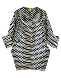 Femme By Michele Rossi Coats And Jackets Overcoats Blue