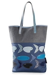 Carmina Campus 'Swatch Fish' Shopper Tote