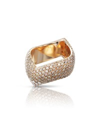 Pasquale Bruni Sensual Touch 18K Rose Gold Diamond Ring