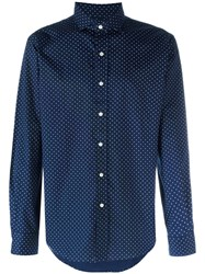 Polo Ralph Lauren Dot Print Shirt Blue