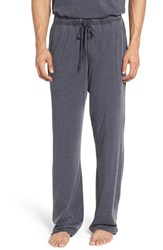 Daniel Buchler Men's Washed Cotton Blend Lounge Pants