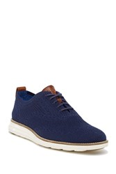 Cole Haan Original Grandshort Wing Oxford Navy Ivory