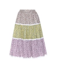 Anna October Floral Printed Skirt Multicoloured