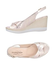 Donna Soft Sandals Dove Grey