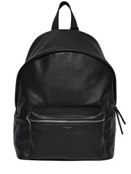 Saint Laurent Smooth Leather Backpack